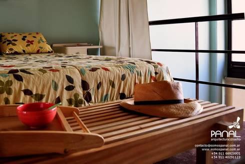 Muebles de estilo Panal: Dormitorios de estilo escandinavo por PANAL