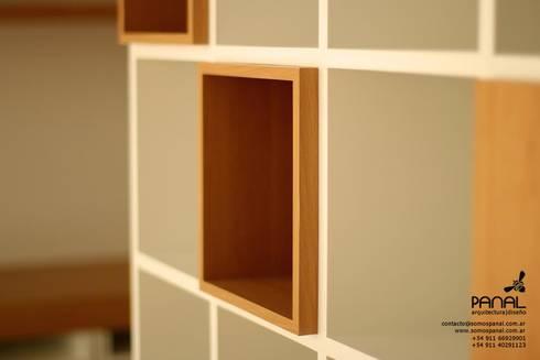 Muebles de estilo Panal: Estudio de estilo  por PANAL