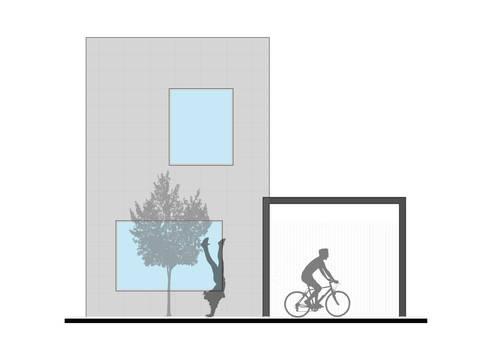CASA L : Casas de estilo moderno por ODRACIR