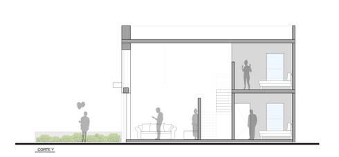 CASA TAR: Salas de estilo moderno por ODRACIR