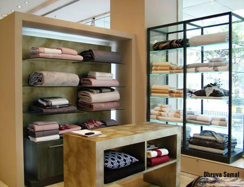 Frette—Colaba:  Offices & stores by Dhruva Samal & Associates