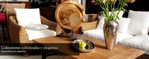 PRESENTACIÓN ¿QUIÉN ES SAND AND GARDEN?: Balcones y terrazas de estilo rústico por Sand And Garden SA de CV