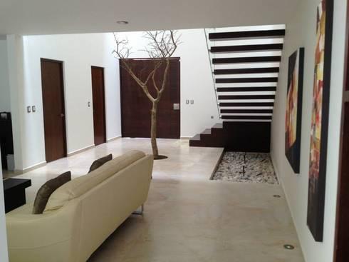 Sala: Salas de estilo moderno por SANTIAGO PARDO ARQUITECTO