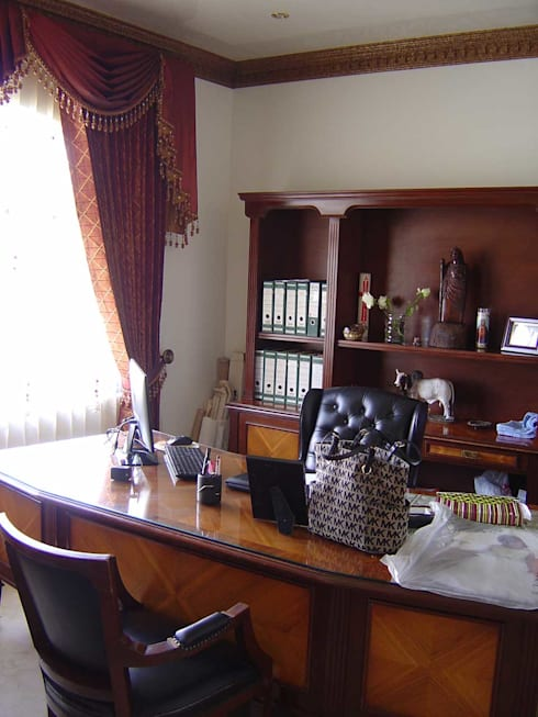 SANTIAGO PARDO ARQUITECTO의  서재 & 사무실