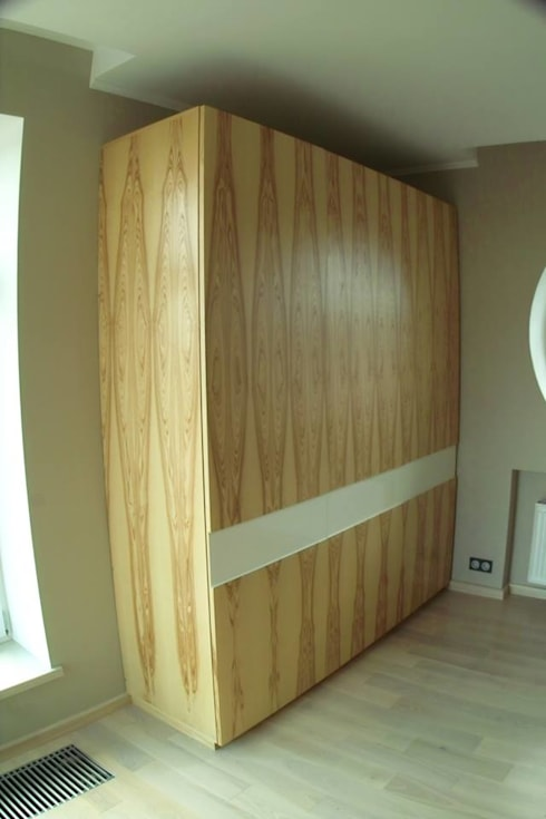 minimalistic Dressing room by Мебельная мастерская Александра Воробьева