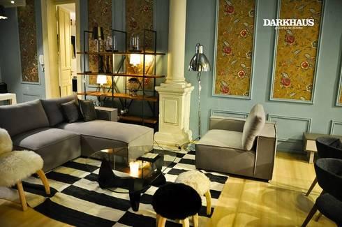 Recorriendo Darkhaus, galería de diseño: Livings de estilo moderno por DARKHAUS