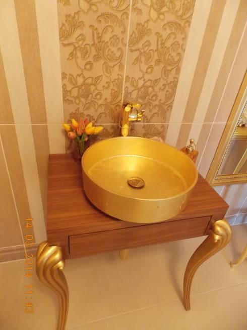 Bagno in stile  di Vizyon Mimarlık ve Dekorasyon