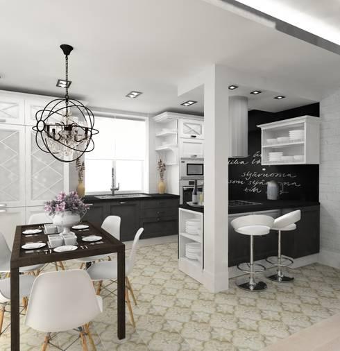 Projekty,  Kuchnia zaprojektowane przez Design&Interior Krasilnikova