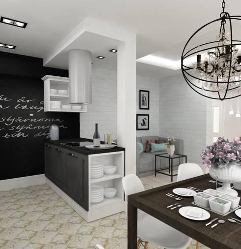 Кухня: Кухни в . Автор – Design&Interior Krasilnikova