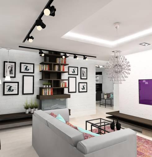 Design&Interior Krasilnikova의  거실