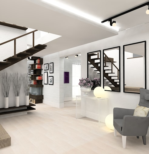 Corridor & hallway by Design&Interior Krasilnikova