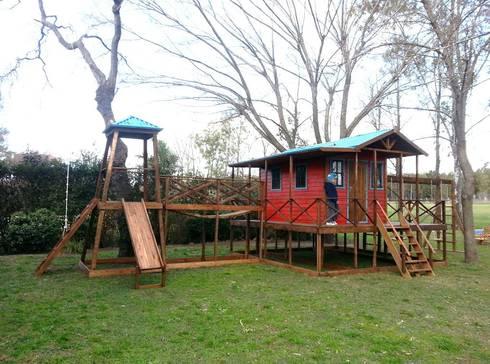 Casitas para niños 1: Jardines de estilo moderno por infocasitasdario