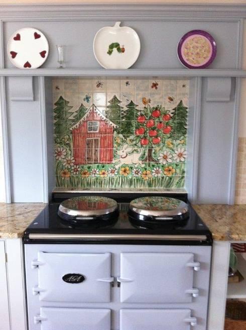 Cocinas de estilo  por Kate Glanville