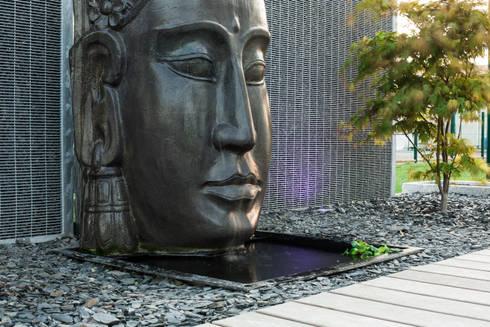 jardin zen por art bor concept homify. Black Bedroom Furniture Sets. Home Design Ideas