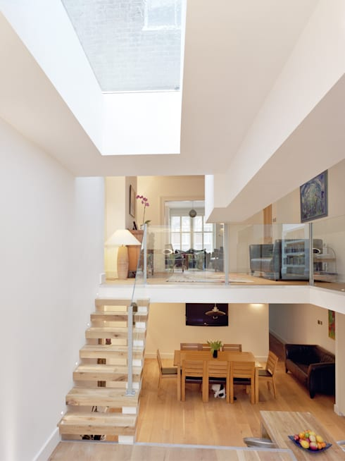 Natropolis Apartments:  Corridor & hallway by Coupdeville
