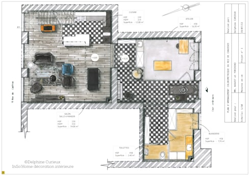 Aménagement et décoration d\'un appartement duplex par INSO\'HOME ...