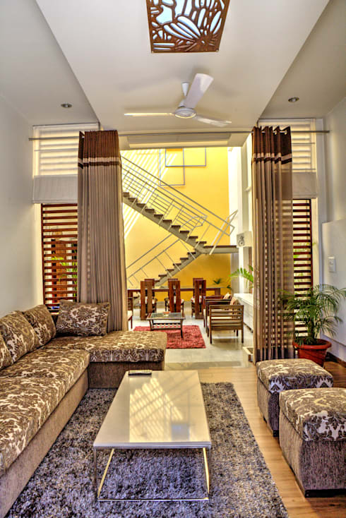 Houses by Studio An-V-Thot Architects Pvt. Ltd.