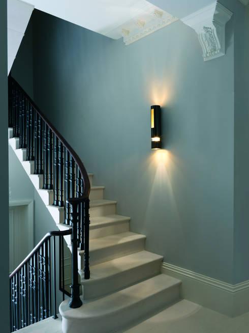 Montebello:  Corridor, hallway & stairs by CTO Lighting Ltd
