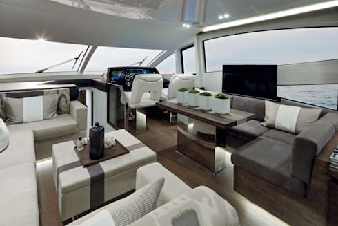 Living room: modern Yachts & jets by Kelly Hoppen