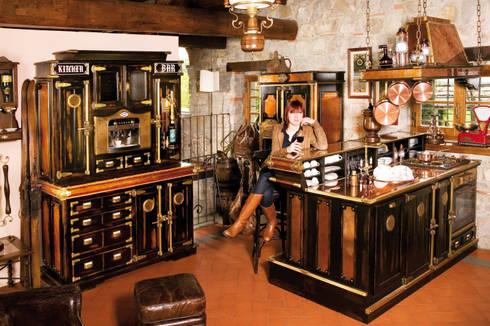 Penisola bancone bar con cucina di maggi massimo homify - Banconi da cucina ...