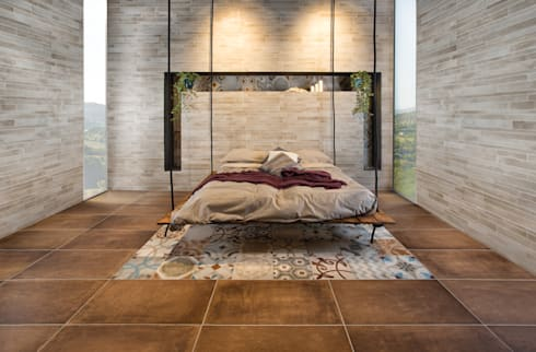 Walls & flooring by Pastorelli
