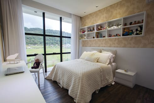 ZAAV-Casa-Interiores-1233: Quarto infantil  por ZAAV Arquitetura
