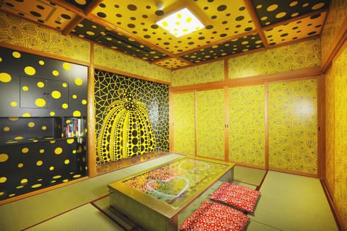草間彌生×宝荘ホテルの客室「わが魂の記憶。」: fujita2が手掛けたレストランです。