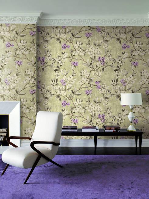HannaHome Dekorasyon  –  Duvar kağıdında tatlı hayat: Dolce Vita!: klasik tarz tarz Duvar & Zemin