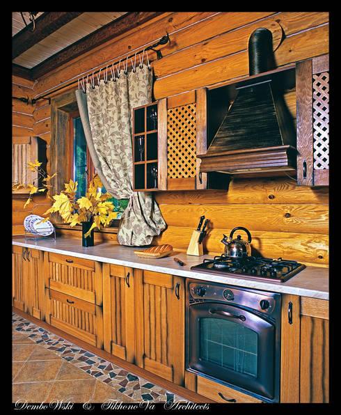 В гостях у сказки: Кухни в . Автор – D&T Architects