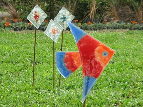 Variedades de objetos de decoración en Vitraux: Jardines de estilo clásico por info7714