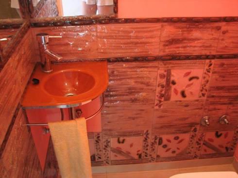 Variedades de objetos de decoración en Vitraux: Baños de estilo clásico por info7714