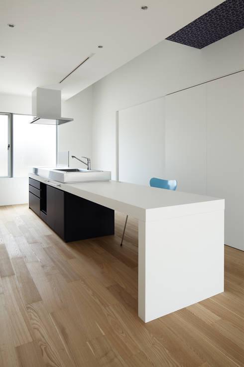 ループ&ループ: Smart Running一級建築士事務所が手掛けたキッチンです。