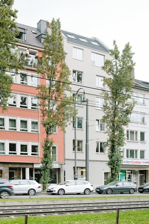 Aufstockung MFH, Köln:  Häuser von Jan Tenbücken Architekt