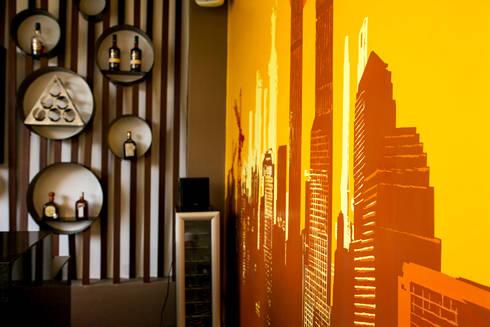 Casa MBGC: Terrazas de estilo  por Arq Mobil