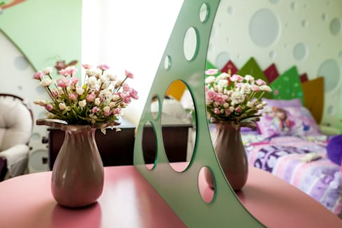 Casa MBGC: Recámaras infantiles de estilo ecléctico por Arq Mobil