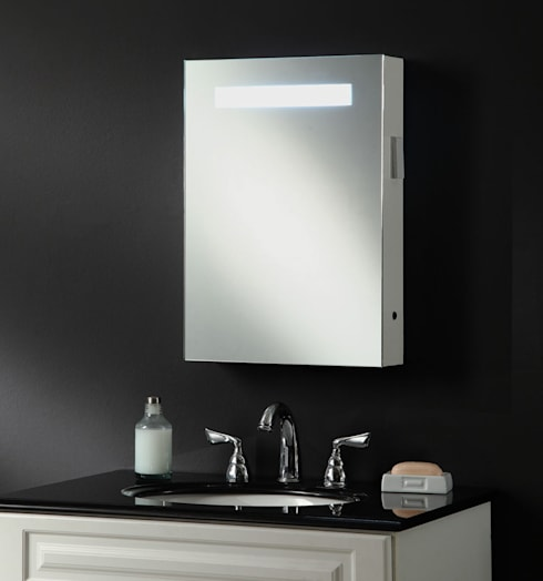 Atomic Illuminated Bathroom Mirror Cabinet:  Bathroom by My Furniture