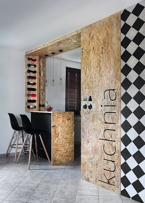 modern Kitchen by kreARTywni_ studio projektowe