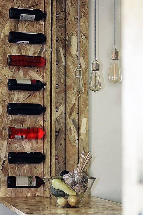 Cocinas de estilo moderno por kreARTywni_ studio projektowe