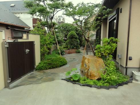 全景: 木村博明 株式会社木村グリーンガーデナーが手掛けた庭です。