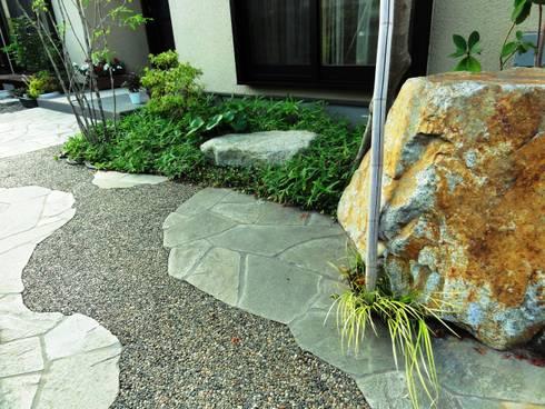 流れるような・・・: 木村博明 株式会社木村グリーンガーデナーが手掛けた庭です。