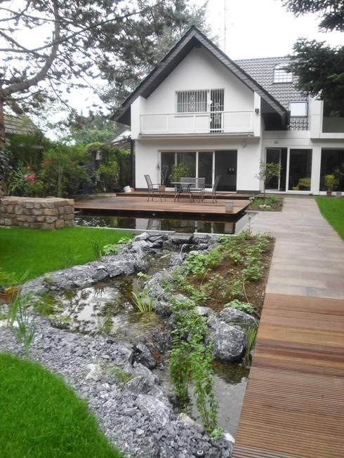 Revitalisierung Haus U. Ratingen: moderner Garten von kg5 architekten