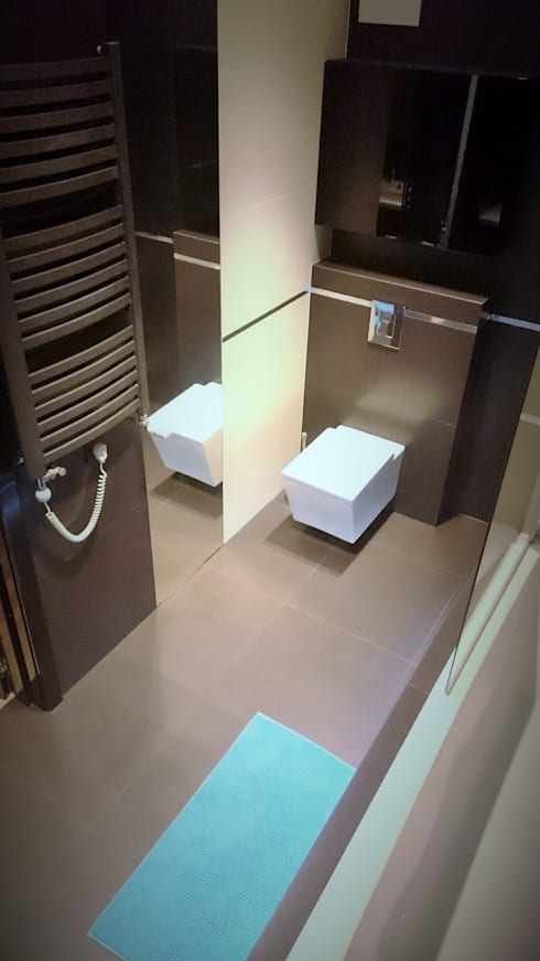 Spokojny apartament na Pańskiej w Warszawie: styl , w kategorii Łazienka zaprojektowany przez project art