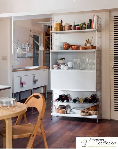 Muebles de Diseño: Cocinas de estilo  de LÁMPARAS DE DECORACIÓN