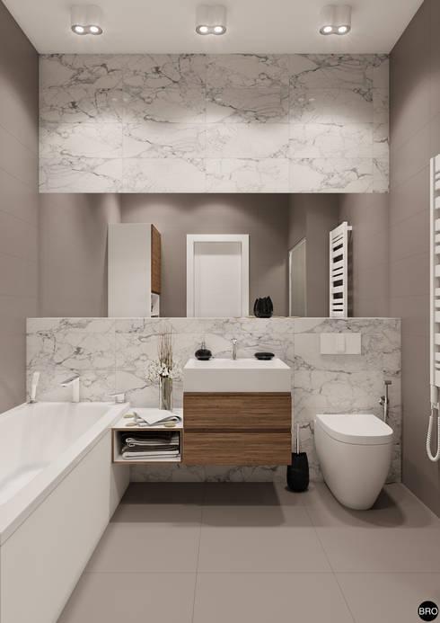 Baños de estilo  por BRO Design Studio
