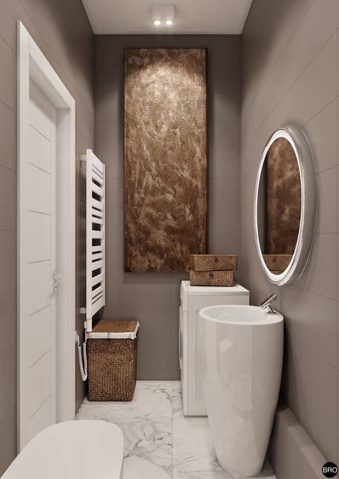 minimalistische Badezimmer von BRO Design Studio