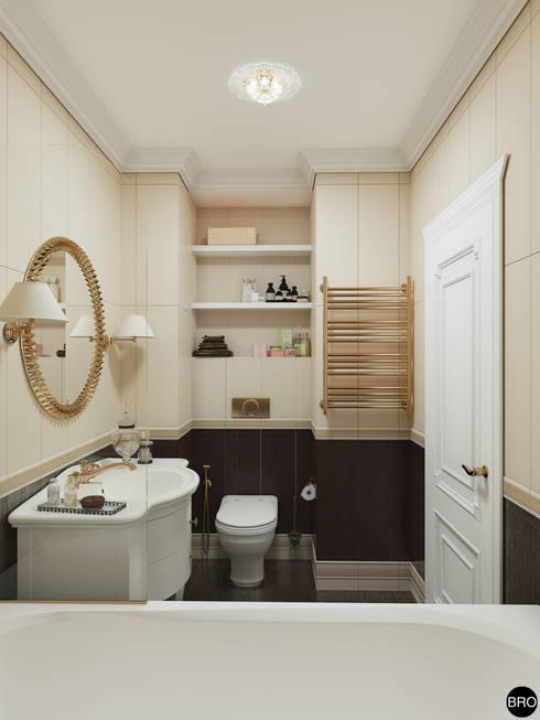 Baños de estilo clásico por BRO Design Studio