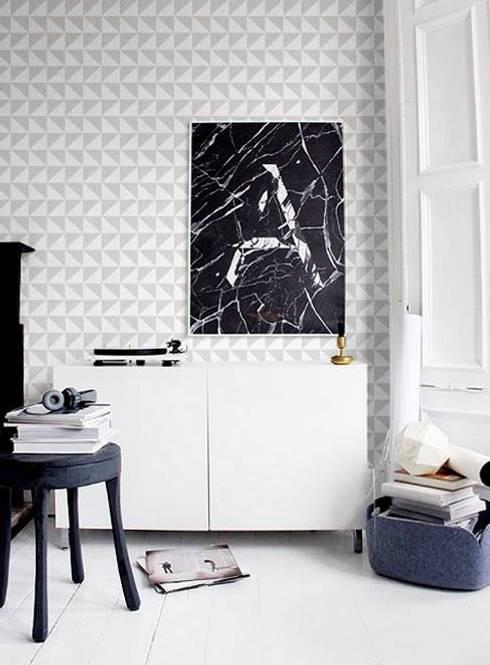 Projekty,  Domowe biuro i gabinet zaprojektowane przez Casa Feten