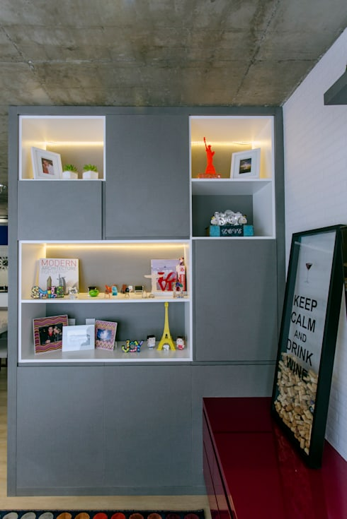 Livings de estilo moderno por Adriana Pierantoni Arquitetura & Design