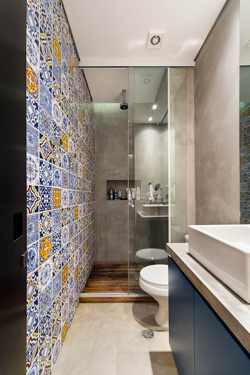modern Bathroom by Casa100 Arquitetura