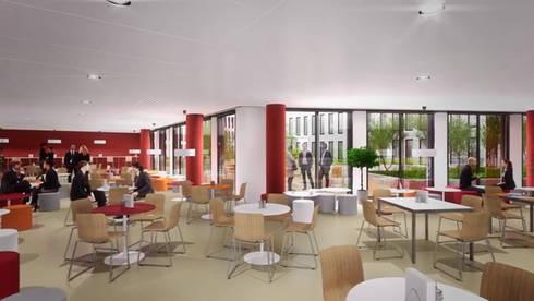 qu4drans la place verte dans paris by platform motion homify. Black Bedroom Furniture Sets. Home Design Ideas